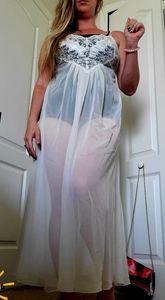 Victoria's Secret • wedding floor length lingerie
